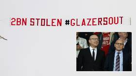 '2 billion stolen': Man United fans raise stakes in campaign against US owners Glazers, fly banner ahead of Leeds game