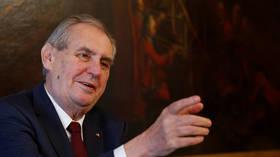 Czech senators mull lawsuit accusing President Milos Zeman of HIGH TREASON, after he cast doubt on Russian role in 2014 ammo blast