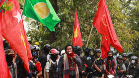 Myanmar pro-democracy protest leader charged with police officers' murders and treason – state TV