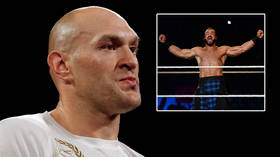 'I'll smash you': Boxing king Fury lashes out at WWE's McIntyre and threatens arch-enemy Joshua in barrage of fresh abuse (VIDEO)