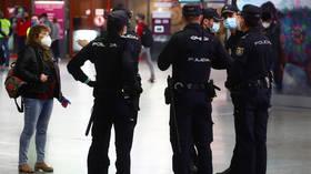 Spanish police arrest 'terrorist' trio suspected of encouraging attacks against France over Charlie Hebdo Mohammed cartoons