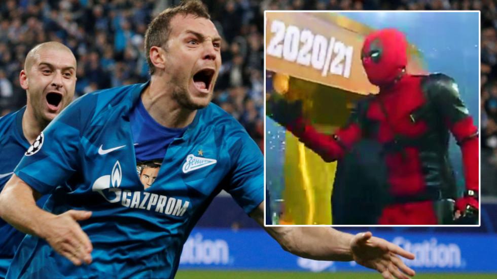Zenit Dzyuba fulfils a dream by donning Deadpool costume