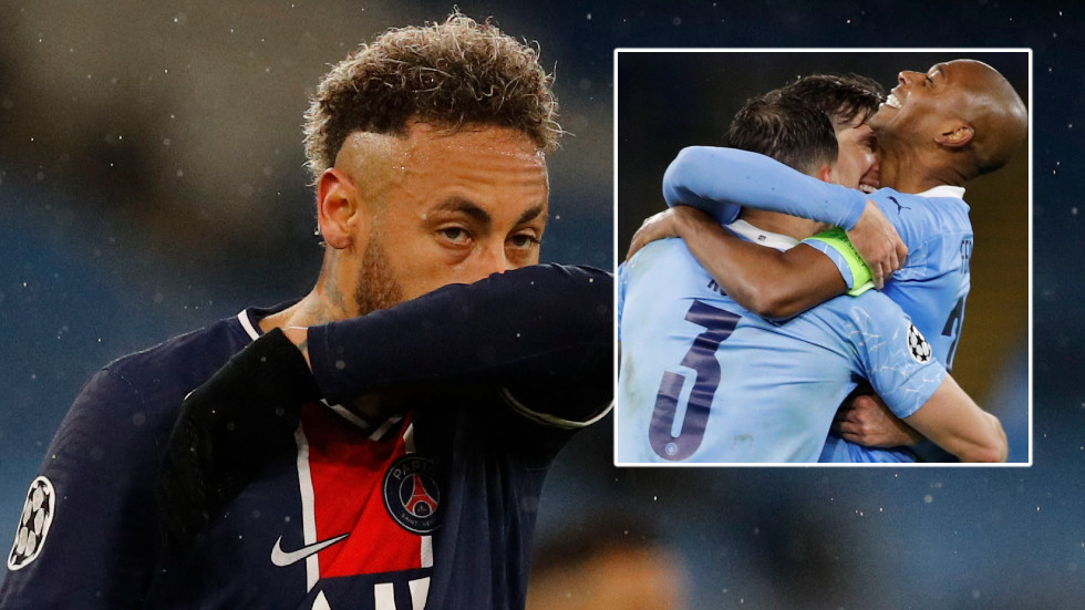 Neymar fails to score for a seventh Champions League