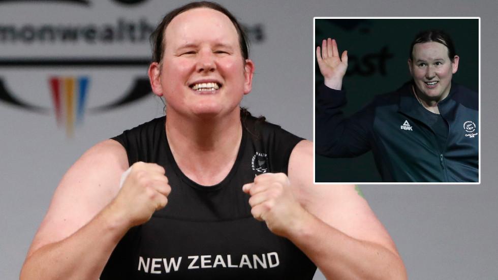 'Craven virtue signaling': Uproar as 43yo weightlifter ...