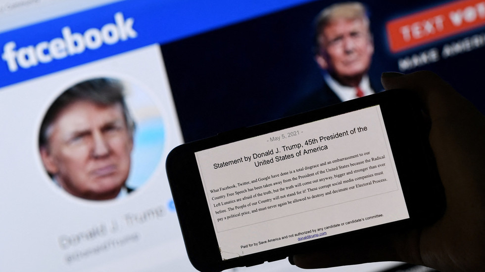 Boom Bust asks when the former president be allowed back on facebook