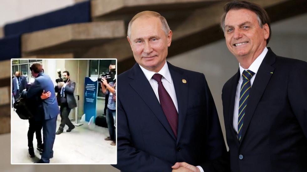 Bolsonaro greets jailed driver of ex-Spartak Moscow star Fernando