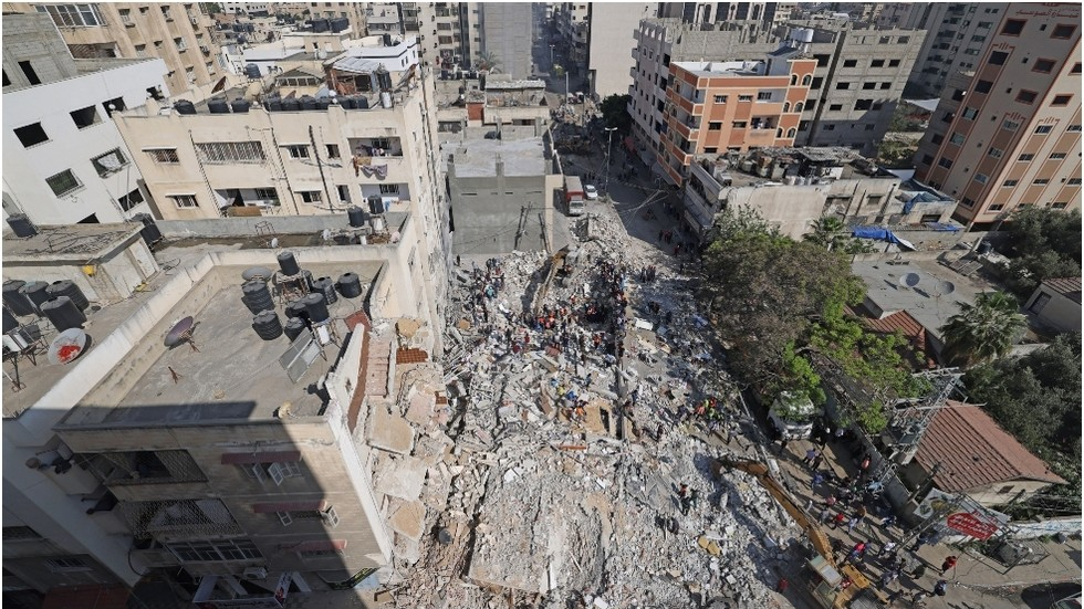 Israel claims to have destroyed Hamas leader's home in Gaza as cross-border attacks continue