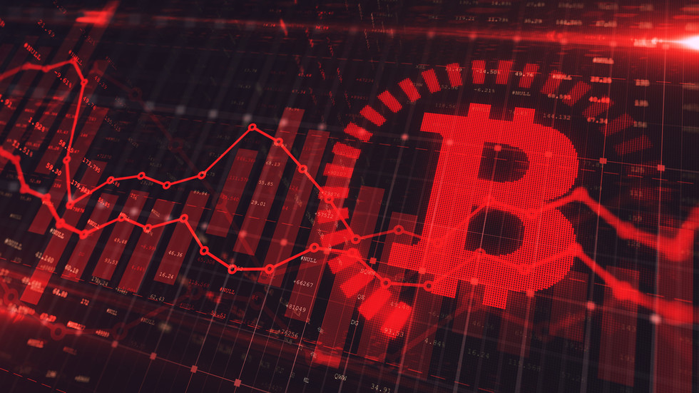 Cryptocurrency market has lost nearly $1 TRILLION in valuesince April peak