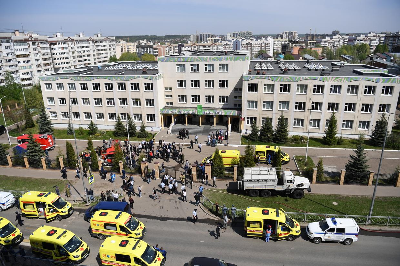 Kazan school shooting news