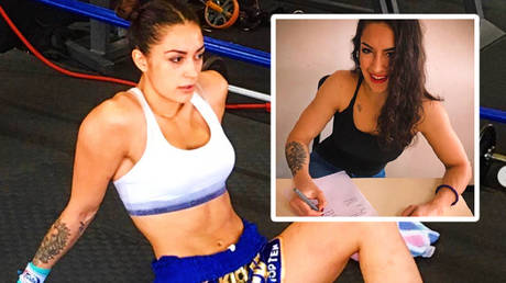 'Badass and a beauty': Serb kickboxer Nadja Milijancevic is a knockout queen becoming bare knuckle's latest female fighter (VIDEO)