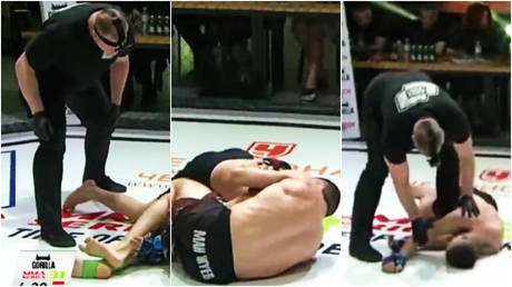 Oleg Manzhuev beat Sherzod Ismoilov at MMA Series 31 © Twitter / Grabaka_Hitman