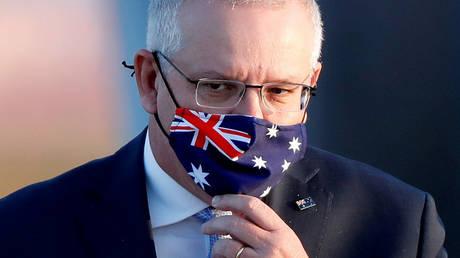 FILE PHOTO: Australian Prime Minister Scott Morrison © REUTERS/Issei Kato/File Photo