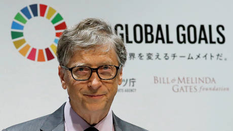 FILE PHOTO: Bill Gates attends a news conference, in Tokyo, Japan, November 9, 2018.
