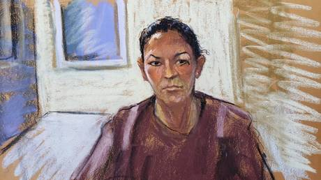 FILE PHOTO: A courtroom sketch of Jeffrey Epstein associate and accused child sex trafficker Ghislaine Maxwell,  as seen during a bail hearing in Manhattan, New York City.