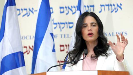 FILE PHOTO. Israeli Justice Minister Ayelet Shaked in Tel Aviv, Israel. © Reuters / Corinna Kern