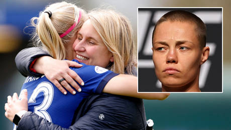 'I am the best': Chelsea women's team reveal how they used UFC star Rose Namajunas as inspiration on run to Champions League final