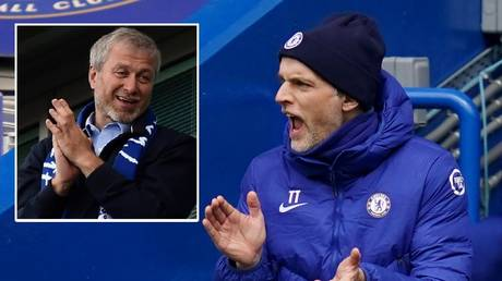 Chelsea boss Thomas Tuchel has been impressive since being appointed by owner Roman Abramovich. © Reuters