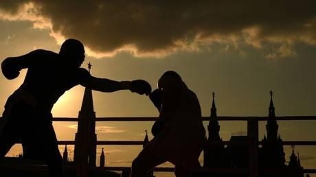FILE PHOTO: Boxing show in Moscow's Red Square ©  Sputnik / Vladimir Astapkovich