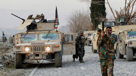 FILE PHOTO. Afghan National Army soldiers. © Reuters / Parwiz