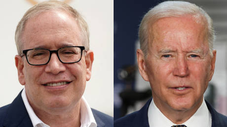 Left: New York City mayor candidate Scott Stringer, whose campaign was recently hit by sexual assault allegations. Right: US President Joe Biden, whose presidential campaign was unhurt by similar allegations.