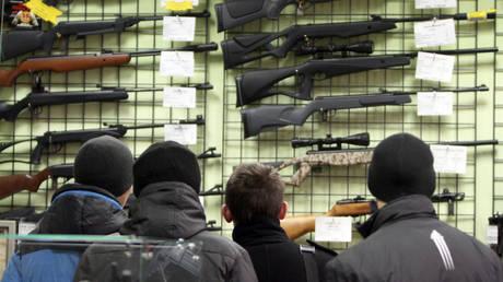 FILE PHOTO. Arms shop in Omsk. © Sputnik