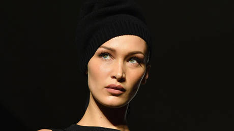 FILE PHOTO. US model Bella Hadid in New York City, USA. © AFP / Angela Weiss