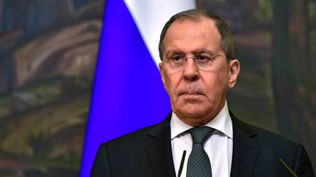 Russian Foreign Minister Sergey Lavrov in Moscow, Russia, 12.05.2021. © RIA