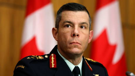 Vice President of Logistics and Operations at the Public Health Agency of Canada Major General Dany Fortin attends a news conference, as efforts continue to help slow the spread of the coronavirus disease (COVID-19), in Ottawa, Ontario, Canada December 7, 2020.
