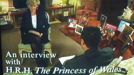 FILE PHOTO. Tv Pictures Of Lady Diana Being Interviewed By The B.B.C. © Getty Images / Mathieu Polak