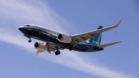 FILE PHOTO. A Boeing 737 MAX airplane in Seattle, Washington, U.S. © Reuters / Karen Ducey