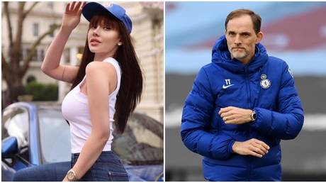 Russian model Maria Liman was full of praise for the work Tuchel has done at her favourite team. © Instagram @liman_maria / Reuters