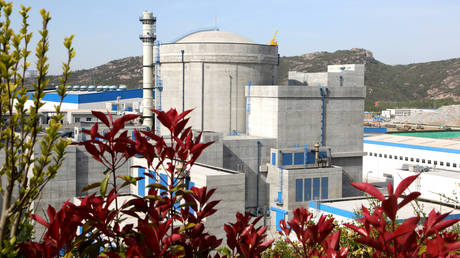 FILE PHOTO.Unit 6 of the Tianwan Nuclear Power Plant of China National Nuclear Corporation in Lianyungang City, East China's Jiangsu Province. © Getty Images / Barcroft Media