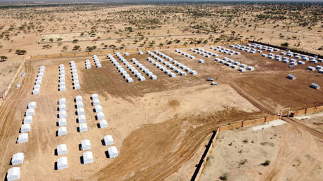 File photo: A camp for internally displaced people in Dori, Burkina Faso November 24, 2020 © REUTERS/Zohra Bensemra