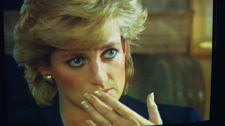 FILE PHOTO. Lady Diana's interview-confession on the BBC's Panorama show