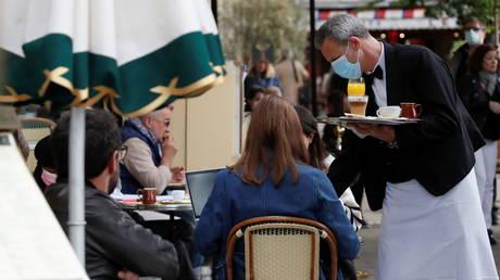 Paris, France, May 19, 2021. © Reuters / Christian Hartmann