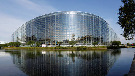 The building of the European Parliament is seen in Strasbourg