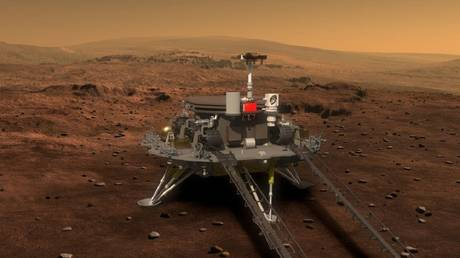 FILE PHOTO. Artist's concept of China's first Mars rover mission. ©Global Look Press/Keystone Press Agency