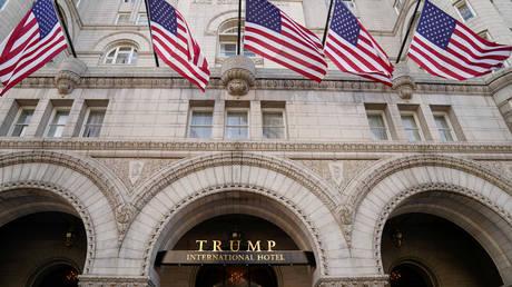 FILE PHOTO: The Trump International Hotel is seen in Washington, U.S. September 28, 2020.
