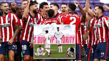Atletico Madrid beat Real Madrid and Barcelona to this season's Liga title © Juan Medina / Reuters | © Susana Vera / Reuters