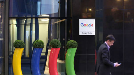 A general view outside the Google European headquarters, on April 19, 2016 in Dublin, Ireland. © Vincent Isore / IP3 / Getty Images