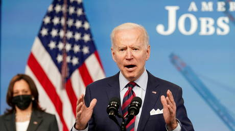 Biden to unveil $6 TRILLION budget, hiking spending to record post-WWII levels