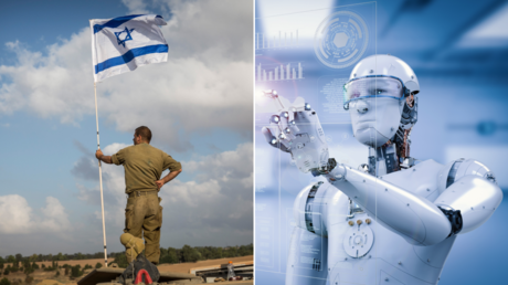 (L) FILE PHOTO. An Israeli soldier stands near the Israeli-Gaza border. © Getty Images / Andrew Burton; (R) © Getty Images / PhonlamaiPhoto