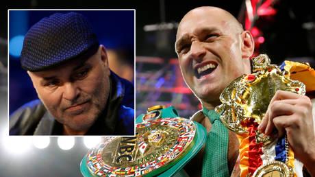 John Fury (left) and WBC champ Tyson Fury © Steve Marcus / Reuters | © Action Images / Adam Holt Livepic