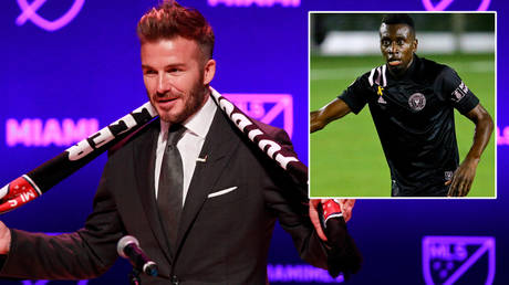 David Beckham's (left) Inter Miami have been fined over the signing of Blaise Matuidi © Andrew Innerarity / Reuters | © Jasen Vinlove / USA Today Sports / Reuters