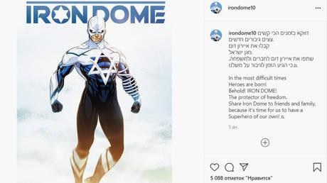 Screenshot © Instagram / irondome10