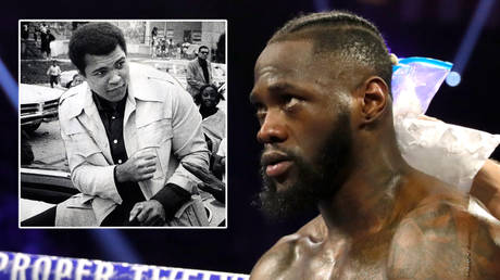 Deontay Wilder (right) will fight Tyson Fury and has been likened to Muhammad Ali (left) © Keith Williams / Louisville Courier Journal / USA Today Network via Reuters | © Steve Marcus / Reuters