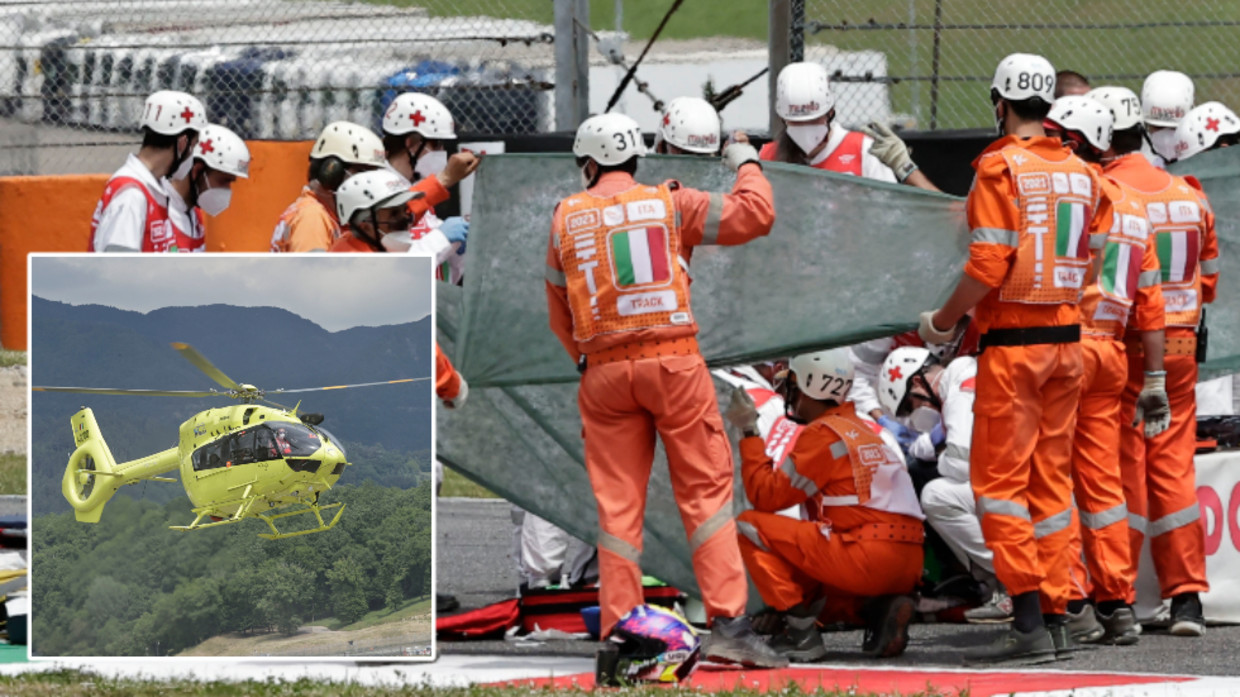 19-Year-Old Moto3 Rider Jason Dupasquier Airlifted to Hospital After Three-Bike Crash During Qualifying