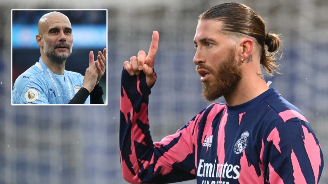 A downgrade': Football fans scoff at prospect of Spain legend Sergio Ramos' proposed switch from Real Madrid to Manchester City — RT Sport News