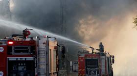 Massive fire breaks out at oil refinery in Haifa, Israel (VIDEO)
