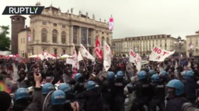 'Blind destructive rage': At least 93 police officers injured, more than 350 protesters arrested during chaotic May Day in Berlin